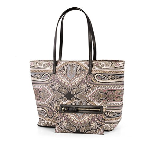 Etro Borsa Shopping Donna 1G6192011800 Pelle Multicolor