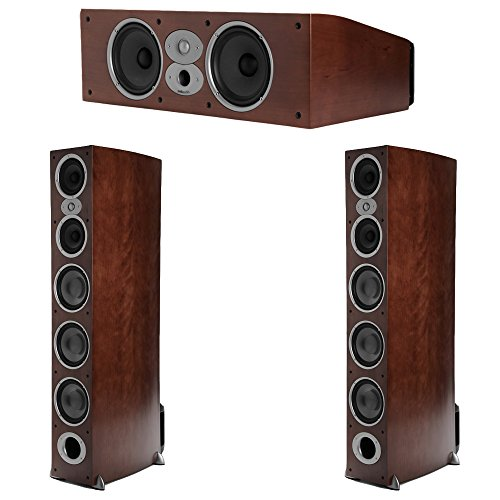 Polk Audio RTi 3.0 Cherry System with 2 A9 Tower Speakers, 1 CSi-A6 Center Speaker