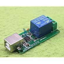 2pcs Free drive usb control switch 1 way 5V relay module computer control switch usb relay board