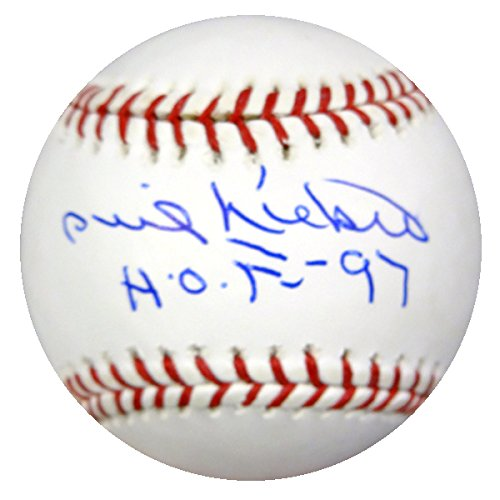 PHIL NIEKRO AUTOGRAPHED OFFICIAL MLB BASEBALL ATLANTA BRAVES