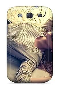 Hot Design Premium PHZXvJu5824RCwUn Tpu Case Cover Galaxy S3 Protection Case(scarlett Johansson Pose)