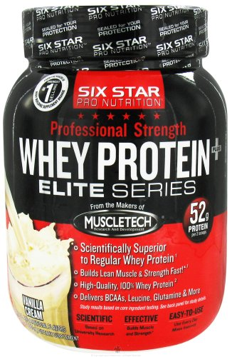Six Star PS Whey Protein 2lb (885g) Pwd -Vanilla Cream