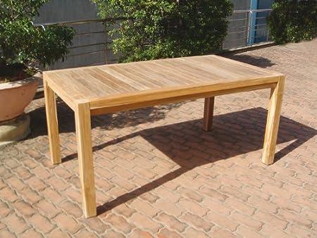 Amazonde Grosser Gartentisch Im Loft Design 160x90cm