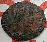 Magnentius Usurper 350-353AD Rare Authentic Ancient Roman Coin...