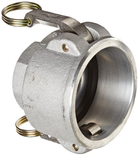 Cam Lock Coupler (PT Coupling Aluminum Reducer Cam and Groove Hose Fitting, D-Reducer, Stainless Steel 300 (HBS) Cam Arms, 3
