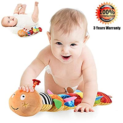 LIGHTDESIRE Musical Caterpillar Toy [Newest] Rattle with Ring Bell for Preschool by LIGHTDESIRE that we recomend individually.