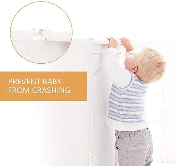 Kantenschutz Antikollisionswinkel Baby-Proofing-Ecke Stuhleckenschutz Baby Cabinet Corner Guards L-Typ Eckensch/ützer Kids Corner Guards