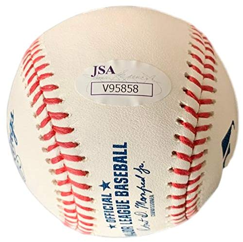 Dansby Swanson Signed Atlanta Braves Official MLB Baseball w/Free Ball Cube JSA