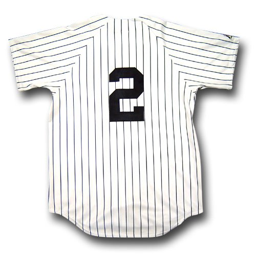 Derek Jeter Majestic Player - Derek Jeter (New York Yankees) MLB Replica Player Jersey by Majestic Athletic (Home)