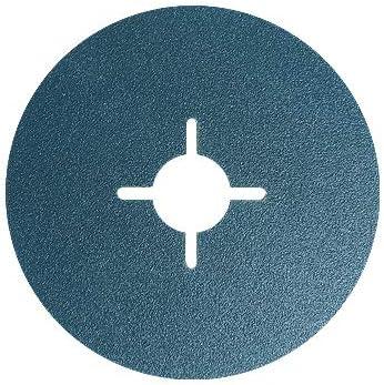 Toolpak Rauchoflex 24 Grit 115mm Zirconium Fibre Discs Packs of 25
