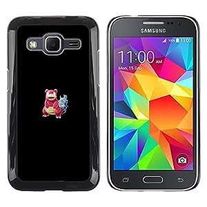 Stuss Case / Funda Carcasa protectora - Meter monstruo rojo cangrejo - Samsung Galaxy Core Prime