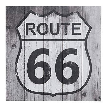 Sunbelt Route 66 - Cartel de Madera de Carretera Vintage ...
