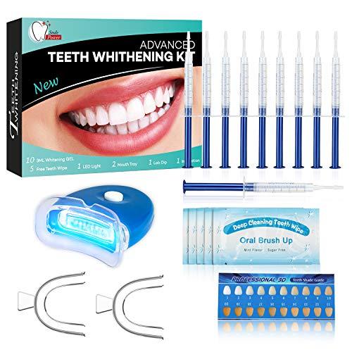 🥇 Kit de Blanqueamiento Dental Profesional Blanqueador Dientes Gel