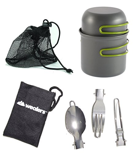 Wealers-Cookware-7-Pieces-Kit-Cookset-Backpacking-Gear-Hiking-Outdoors-Cooking-Equipment-Lightweight-Compact-Durable-Pot-Pan-Bowls-Free-Folding-Cutlery-Set