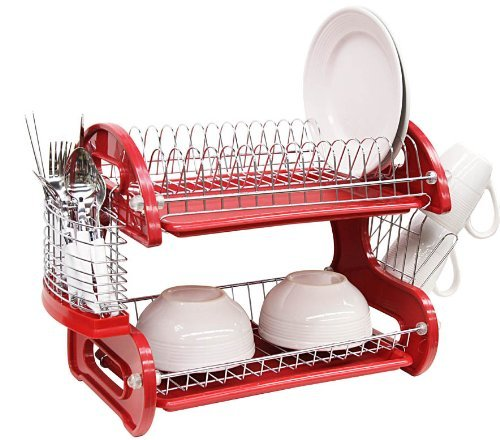 Two-Tier Fifties Dish Drainer
