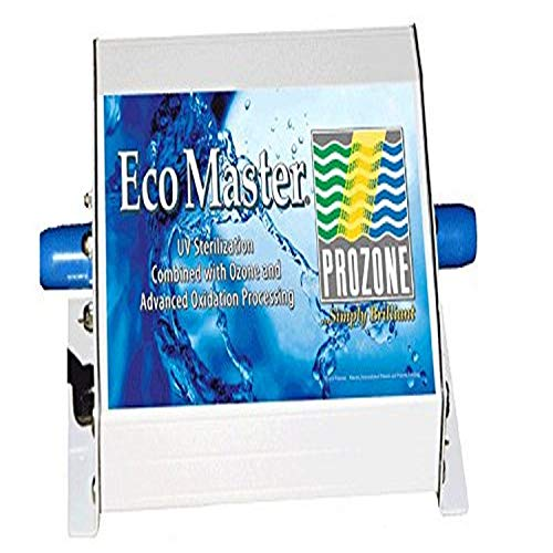 Prozone Water Products ECO Master SPA 110V Ozone Generator, 8-1/2' by 6' by 3-1/2', White