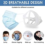 3D Mask Bracket - Oceantree Protect Lipstick Lips - Internal Support Holder Frame Nose Breathing smoothly - DIY Face Mask Accessories