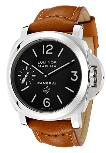 Panerai Luminor Marina Black Dial Mechanical Mens Watch PAM00005