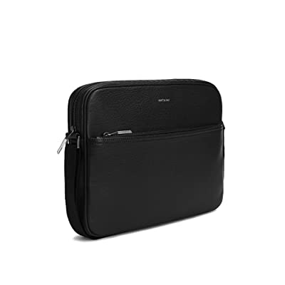 Matt and Nat Coen Dwell Unify Vegan Messenger in Black low-cost