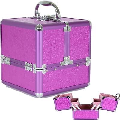 Aluminium Makeup Case to Store Organize Makeup Jewelry Nail Polish