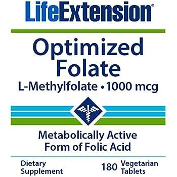 Amazon.com: Healthy Origins methyl ácido fólico (quatrefolic ...