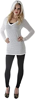 product image for Hard Tail long sleeve v-neck hoody (white)
