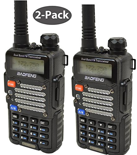 Baofeng Radio US 2-Pack UV-5R V2+UV-5R V2+ Plus Dual-Band 14