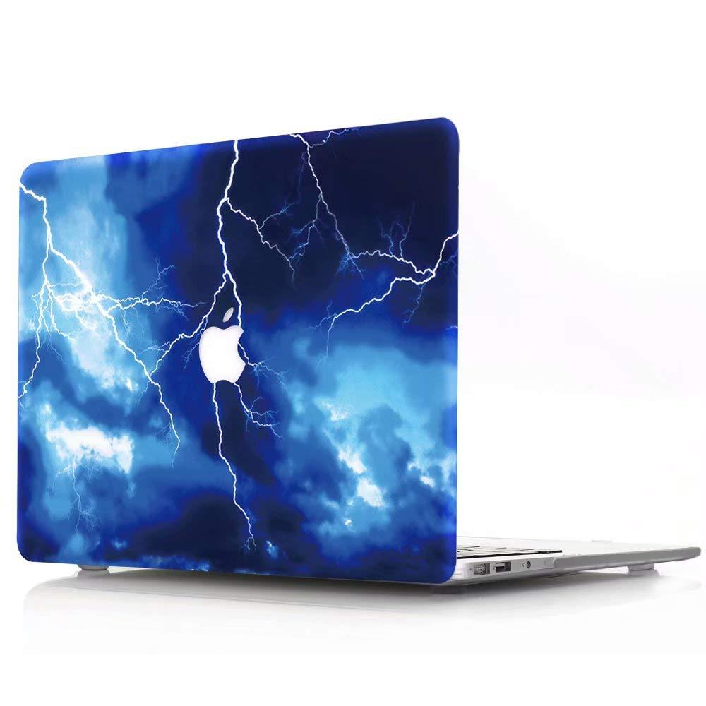 AQYLQ Funda Dura para MacBook Air 11 Pulgadas (A1370 / A1465), Ultra Delgado Carcasa Rígida Protector de Plástico Acabado Mate Cubierta, SD-16 Rayo