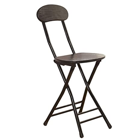 Admirable Amazon Com Folding Bar Chair With Backrest Breakfast Ncnpc Chair Design For Home Ncnpcorg