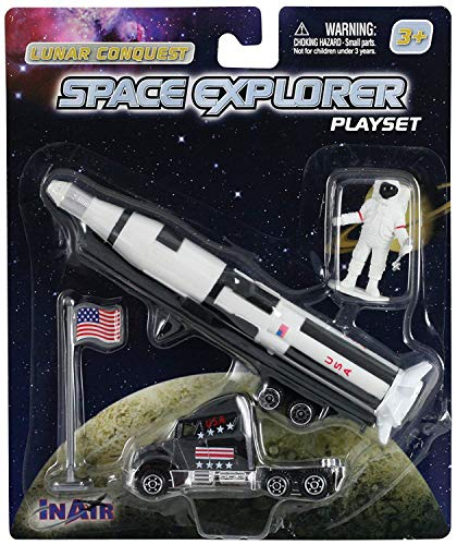 WowToyz Saturn V Rocket (4 Piece Playset)