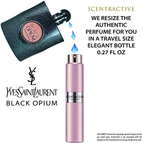 Yves Saint Laurent Eau De Parfum Spray Black Opium Travel Mini Size 8 ml / 0.27 Fl Oz... ()