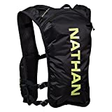 Nathan NS4196-0015-00 QuickStart Hydration Vest, Black, 4 L