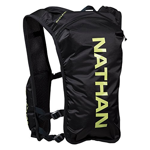 Nathan NS4196-0015-00 QuickStart Hydration Vest, Black, 4 L