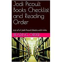 Jodi Picoult Books Checklist and Reading Order: List of all Jodi Picoult Books with links