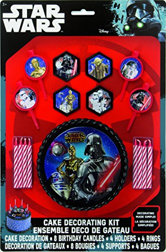 Unique Cake Decoration Kit Star Wars