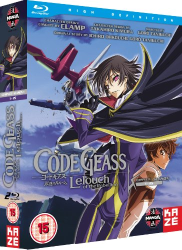 Code Geass: Lelouch Of The Rebellion - Complete Season 1