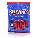 Red Vines  Red Licorice Jumbo Twists 8oz Bag (12 Pack)