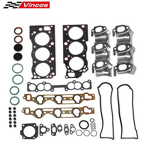 (Cylinder Head Gasket kit Replacement For Toyota V6 3.0 3VZE 1988-1995)
