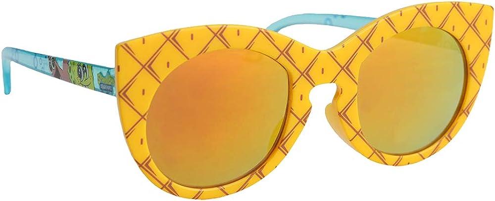 Licensed Nickelodeon Spongebob Squarepants Pineapple Kids Shades Party Child Arkaid Sunglasses UV
