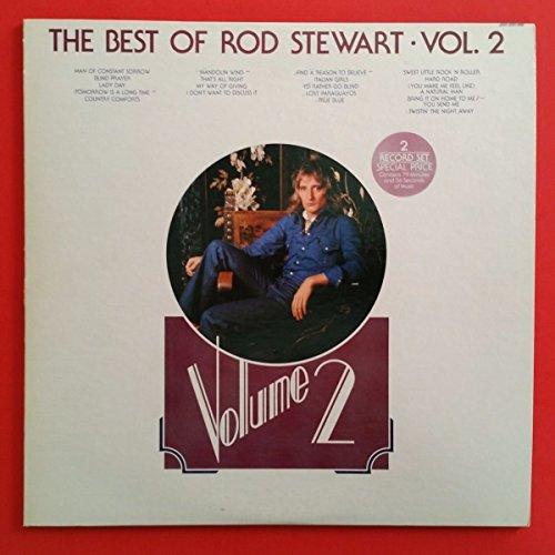 ROD STEWART Best Of Vol 2 Dbl LP Vinyl VG+ Cover VG++ GF Masterdisk SRM 2 7509