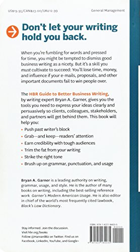 better business writing hbr lewis
