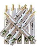 Albino Monkey 200 Round Chinese Chopsticks Disposable Best for Sushi Bamboo Wooden Chop Sticks