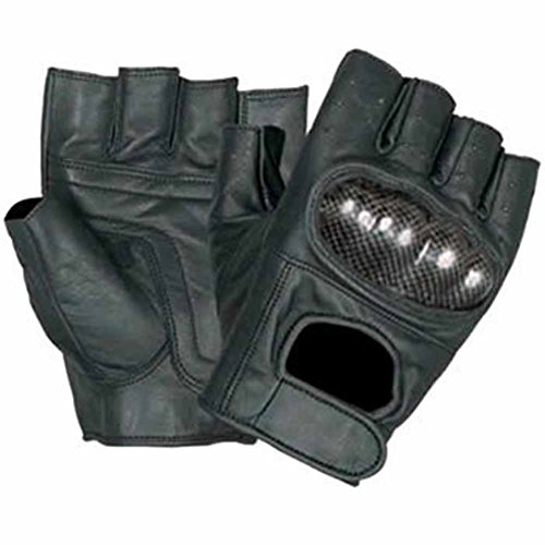 allstate-leather-leather-fingerless-motorcycle-gloves-with-kevlar-knuckles-xl-black