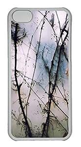Customized iphone 5C PC Transparent Case - Vine01 Cover