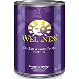 Wellness Complete Health Chicken & Sweet Potato Natural Wet Canned Dog Food, 12.5-Ounce Can (Pack of 12)