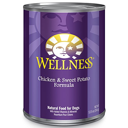 Wellness Complete Health Natural Wet Canned Dog Food, Chicke