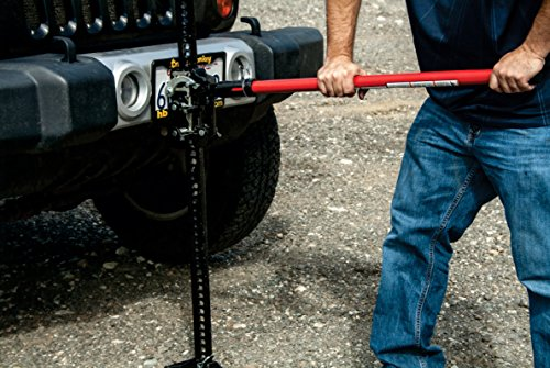 Torin Big Red 60'' Ratcheting Off Road/Utility Farm Jack, 3 Ton Capacity by Torin (Image #2)
