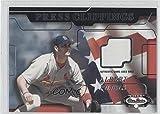 Albert Pujols (Baseball Card) 2002 Fleer Box Score - Press Clippings - Jerseys [Memorabilia] #ALPU