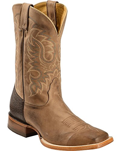 MD2731 Nocona Men's Legacy 11IN Western Boots - Tan - 7.0\EE