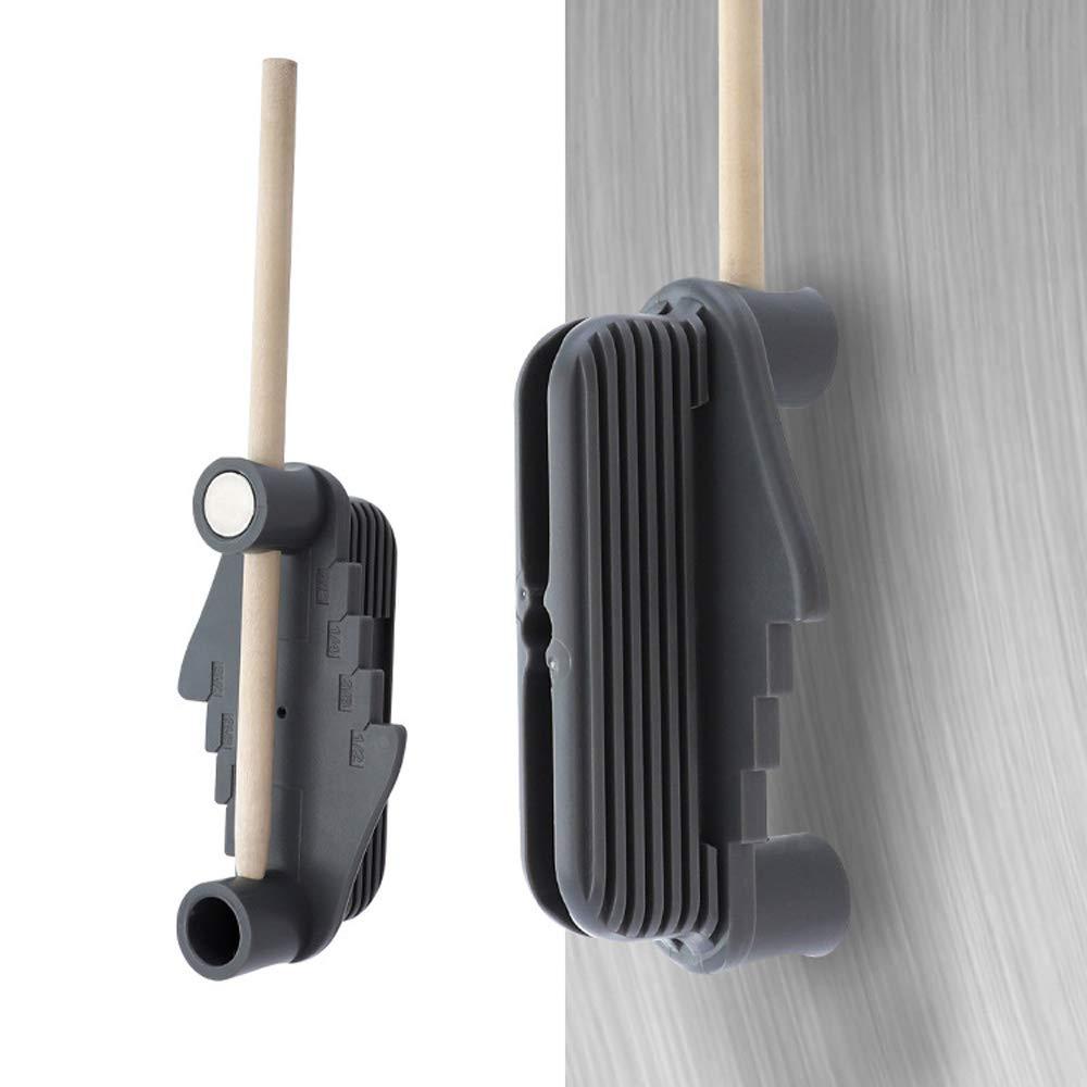 Trazador del buscador de l/íneas de centro de carpinter/ía con im/án Pulgadas multifuncional Medidor de marcado de l/ínea de desplazamiento en offset Herramienta de trazo